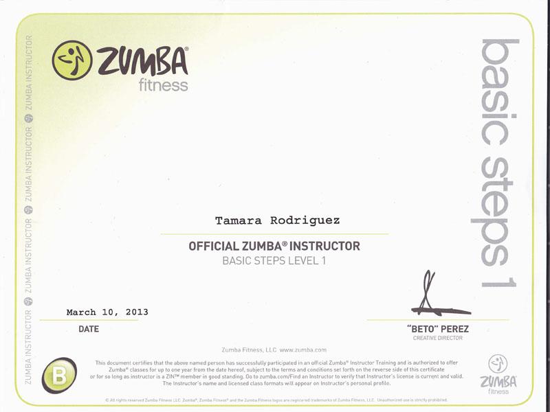 Tamara_Zumba-Instructor-Certificate   Tamara Rodriguez Mehl