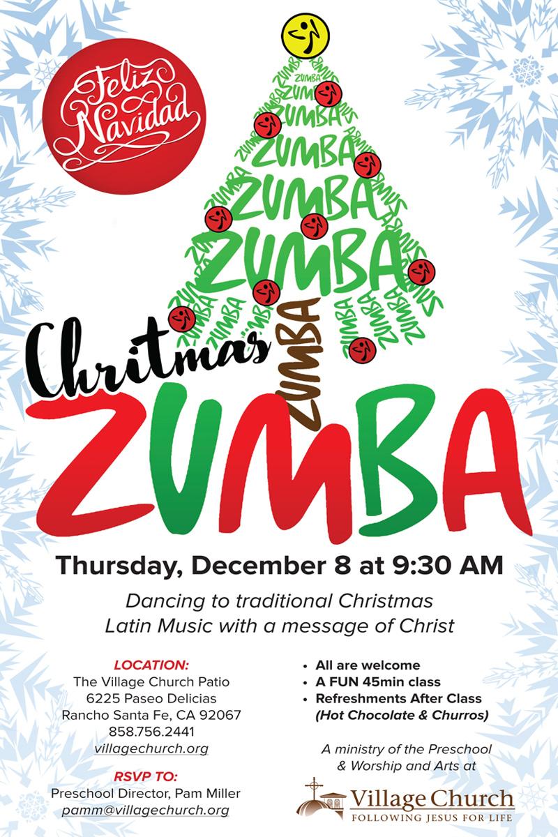 Tamara : Christmas Zumba : Village Church : Rancho Santa Fe, CA ...